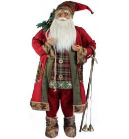 Deda Mraz sa štapom, zvonima i dzakom 740606