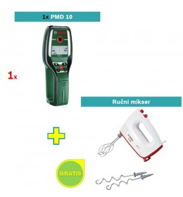 Detektor metala Bosch PMD 10 + Bosch ručni mikser GRATIS
