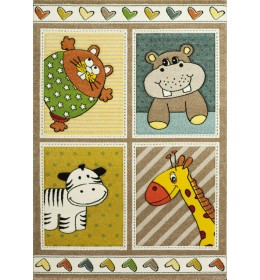 Dečiji tepih Diamond Kids 21907-070 120x170 cm