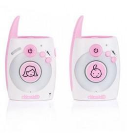 Digitalni bebi alarm sa lampom Chipolino Astro pink
