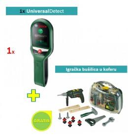 Digitalni detektor Bosch Universal Detect + Igračka bušilica u koferu