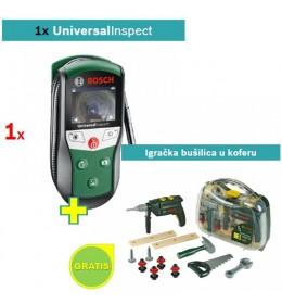 Digitalni detektor Bosch Universal Inspect + Igračka bušilica u koferu
