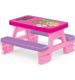 Klupa Piknik za decu Dolu Barbie