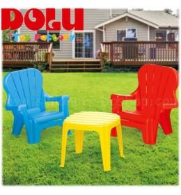 Stočić i stolice za decu Set