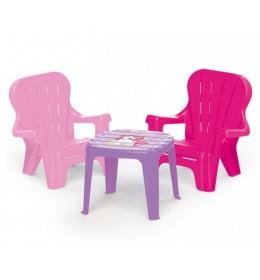 Sto i stolice za devojčice