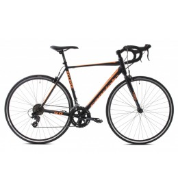Drumski bicikl Capriolo Eclipse 4.0 crno-oranž