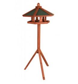 Drvena kućica za ptice na stalku Natura Trixie