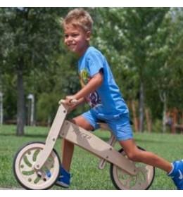 Drveni bicikl bez pedala Breza