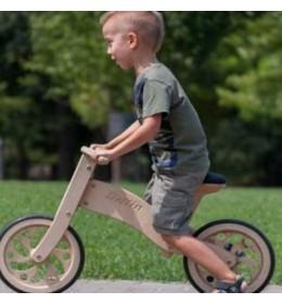 Drveni bicikl bez pedala Delfin