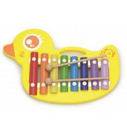 Drveni ksilofon patka