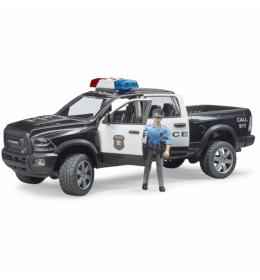 Džip RAM Police sa figurom Bruder 025052