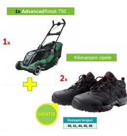 Električna kosilica za travu Bosch Advanced Rotak 750+poklon