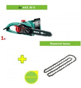 Električna testera Bosch AKE 30 S 1x lanac GRATIS