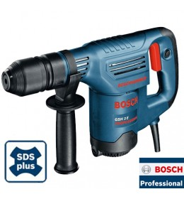 Elektro-pneumatski čekić za štemovanje Bosch GSH 3 E Professional