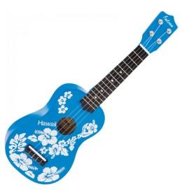 Falcon Ukulele FL15BL Blue Flower