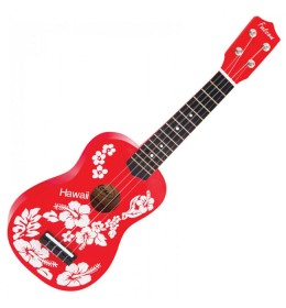 Falcon Ukulele FL15RD Red Flower