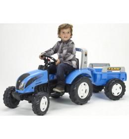Falk traktor na pedale sa prikolicom