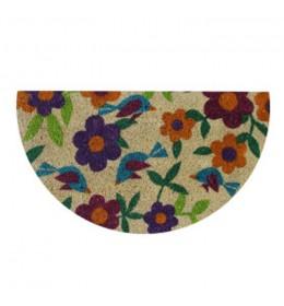 Fantasia polukružni otirač 40 x 70 cm flower