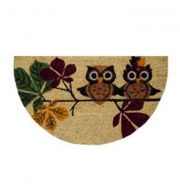 Fantasia polukružni otirač 40 x 70 cm owl