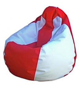 Lazy bag šoteks crveno-beli S