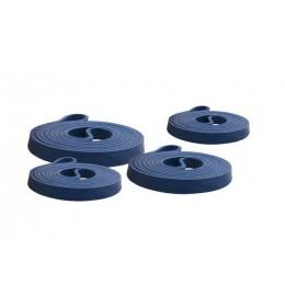Fitnes gumena traka opterećenja 208 x 4.4 x 0.45 cm