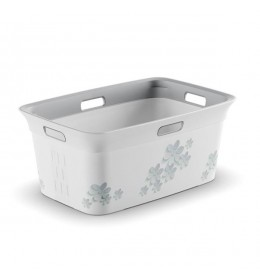 Korpa za veš Chic Flower Gray 45l