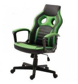 Gejmerska stolica 2328 crno zelena