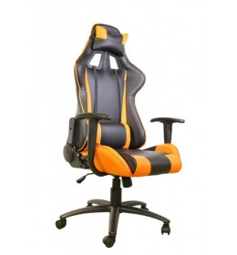 Gejmerska stolica e-Sport DS-042 Black/Orange
