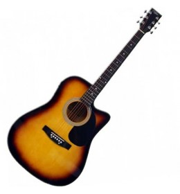 Ozvučena akustična gitara Eclipse CX S022 CEQSB