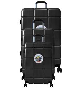 Putni kofer Colossus line GL-98 set crni
