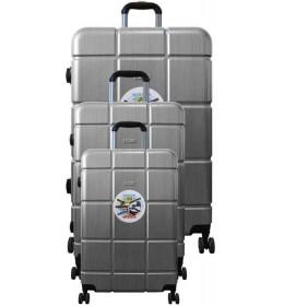 Putni kofer Colossus line GL-98 set sivi