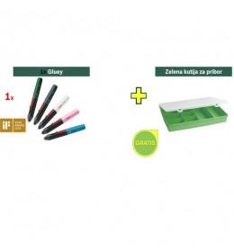 Olovka za lepak Bosch Gluey Dark grey + poklon kutija