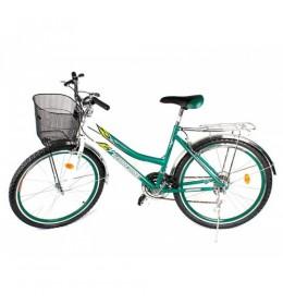 """Gradski bicikl Glory Bike 26"""" Zeleni"""