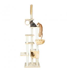Grebalica za mačke bež platinum do 270 cm