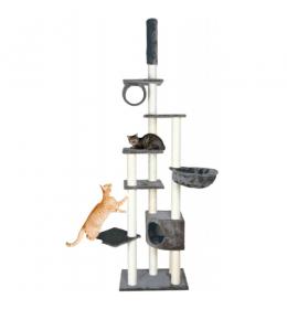 Grebalica za mačke platinum siva do 270 cm