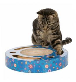 Grebalica za mačke sa lopticama za igru