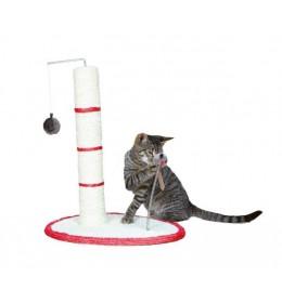 Grebalica za mačke Scratch me 50 cm crvena