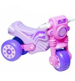 Guralica za decu Motor cross Dohany Toys ljubičasta