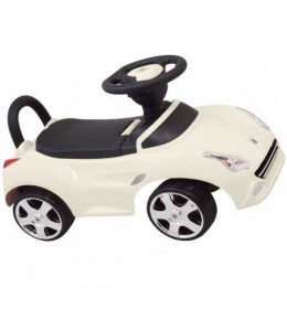 Guralica za decu autić Baby Mix bela