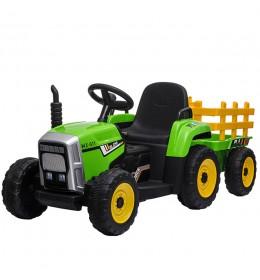 Dečiji traktori sa prikolicom 261 Zeleni