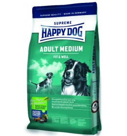 Hrana za pse Happy Dog Supreme Fit & Well Medium Adult 4kg