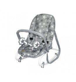 Ležaljka za bebe Grey Stars