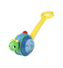Igračka guralica Roll & Glow Snail