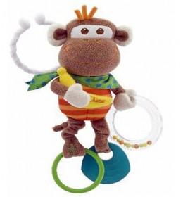 Igračka zvečka plišano Majmunče Chicco