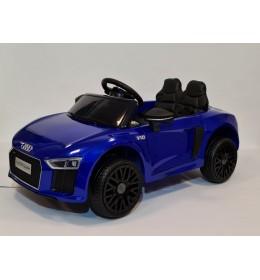 Automobil na akumulator Audi r8 spyder Plavi