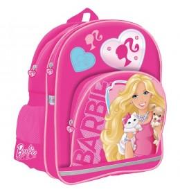 Ranac školski sa ojačanjem Barbie StarPak roze