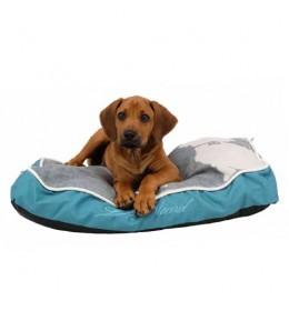 Jastuk za psa petrolej-sivi Buddy 90 x 60 cm