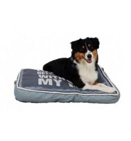 Jastuk za pse Bobby 70x50 cm sivi