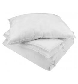 Jorgan+jastuk set WHITE