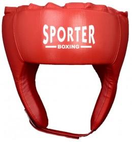 Kaciga za boks Sporter crvena